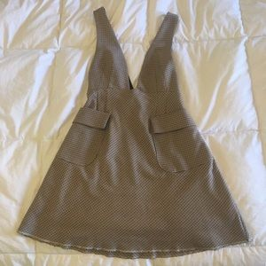 Zara Mod Houndstooth Mini Jumper/Dress.
